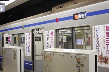 2013年1月21日、副都心線・池袋、832M列車の西武6158F。