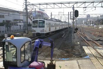 2013年2月2日 14時35分ころ、田無、通過した1257Fの下り回送列車。