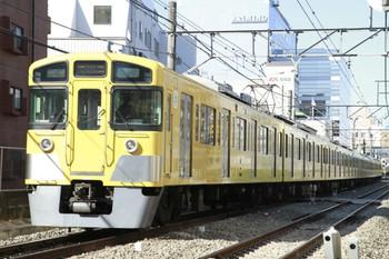 2013年2月24日、高田馬場~下落合、三色LED表示器の2059Fの5611レ。