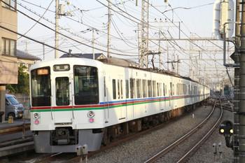 2013年3月16日、西所沢、4001F+4021Fの2002レ。