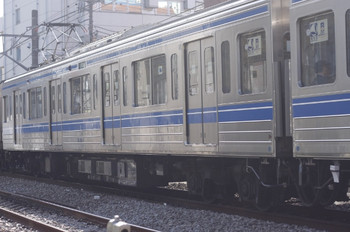2013年3月19日、高田馬場~下落合、6501のアップ。