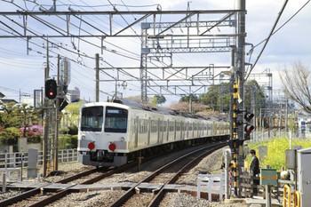 2013年4月7日 14時0分頃、西所沢、通過した1245F+263Fの下り回送列車。