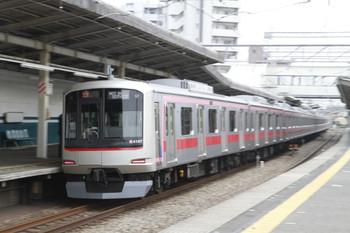 2013年4月14日 13時42分頃、西所沢、東急4107Fの上り回送列車(51K運用)。