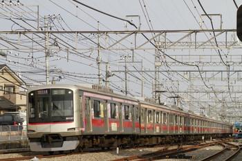 2013年4月14日、西所沢、東急4101Fの1717レ(52K運用)。