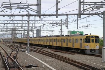 2013年5月2日、石神井公園、2503F+2501F+2455Fの2510レ。