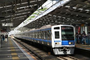 2013年5月4日、綱島、西武6103Fの特急 元町・中華街ゆき132131レ。