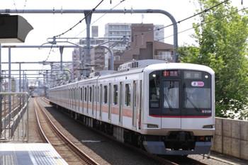2013年5月19日、富士見台、東急5159Fの1705レ。