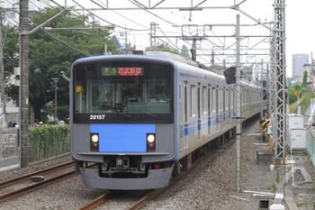2013年6月24日、武蔵関、20157Fの4312レ。ヘッドマークはすでになし。