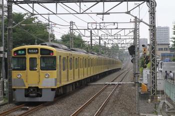 2013年6月24日、武蔵関、2521F+2051Fの4251レ。