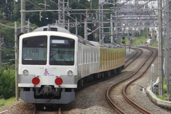 2013年7月7日 14時2分頃、西所沢、通過した1247F+263Fの下り回送列車。