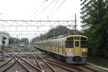 2013年7月15日、萩山、2451F+2051Fの2504レ。