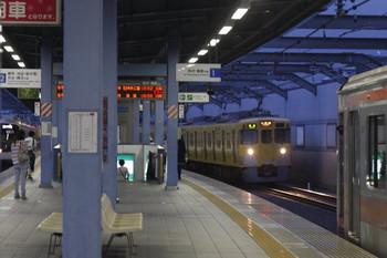 2013年7月24日、富士見台、中央奥が2417F+2087Fの4229レ。