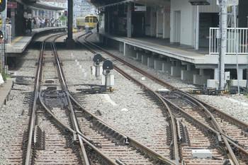 2013年7月27日、保谷、上列車先頭からホーム飯能方を撮影。