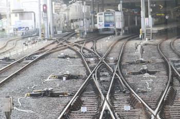 2013年7月28日、池袋、上り列車先頭から撮影。
