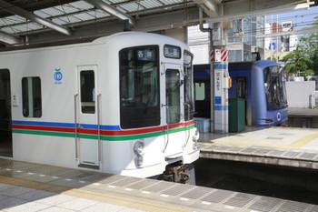 2013年9月21日、飯能、クハ4022ほか8連の臨時各停 高麗ゆきと1705レで到着した横浜高速鉄道のY504F。