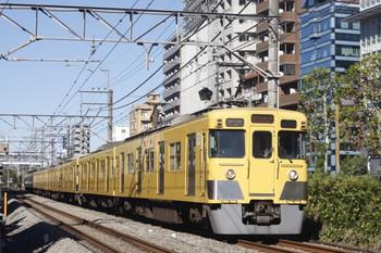 2013年9月27日、高田馬場~下落合、2411F+2021Fの5016レ。