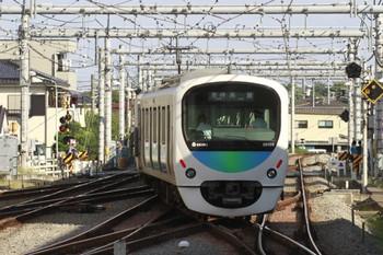 2013年9月30日 15時8分頃、1番ホームから発車した38103Fの臨時各停 高麗ゆき。