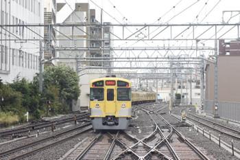 2013年10月16日、池袋、台風の朝も西武秩父ゆきだった4209レ。