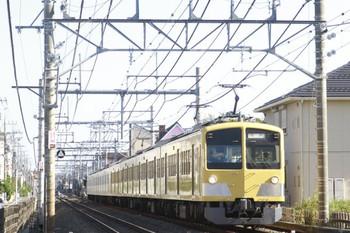 2013年10月27日 13時58分頃、所沢~西所沢、263F+1251Fの下り回送列車。