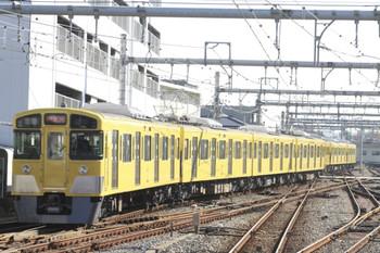 2013年11月14日 10時21分頃、飯能、発車した2061Fの上り試運転列車。