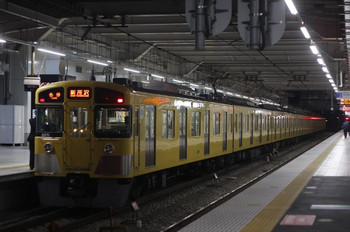 2013年11月28日、所沢、2071Fの5801レ。