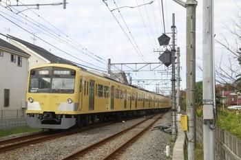 2013年12月8日、八坂~武蔵大和、2501レの3017F。
