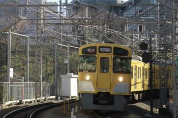 2013年12月29日、高田馬場~下落合、2093Fの2505レ。