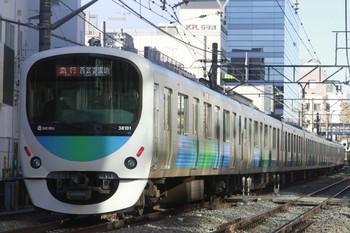 2013年12月29日、高田馬場~下落合、38101Fの2501レ。