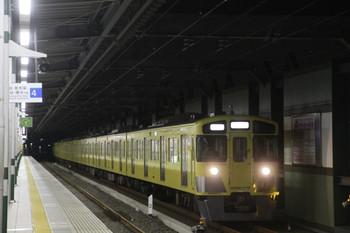 2014年1月2日 6時11分頃、練馬、急行線を通過する2063Fの上り回送列車。