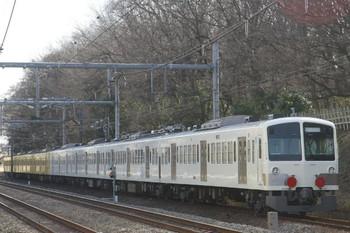 2014年1月18日 12時12分頃、所沢~新秋津、1247F+263Fの回送列車。