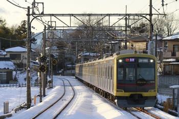 2014年2月9日、元加治、東急4110Fの1722レ(52K運用)。