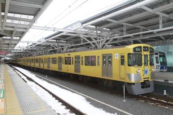 2014年2月11日、石神井公園、戸袋窓が残る9108Fの4301レ。