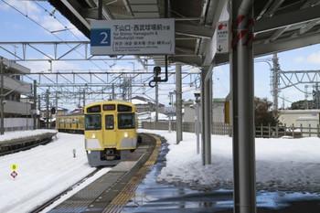 2014年2月16日、西所沢、2533Fの6136レ。
