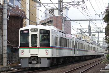 2014年2月22日、池袋~椎名町、4015F+4005Fの西武秩父ゆき1001レ。