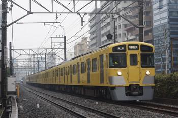 2014年3月5日、高田馬場~下落合、2519F+2405F+2403Fの5016レ。