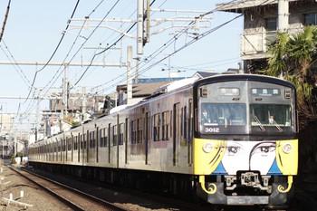 2014年3月15日、池袋~椎名町、5414レの3011F。