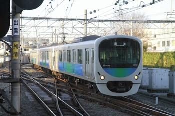 2014年3月15日 17時5分頃、所沢、38105Fの下り回送列車。