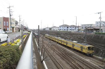 2014年4月5日 14時0分、新秋津、JRから西武へ戻る263F。