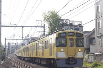 2014年4月17日、池袋~椎名町、西武秩父ゆき4209レの2461F+2075F。