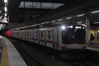 2014年5月1日、所沢、東急4105Fの6814レ。