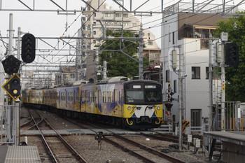 2014年5月10日 6時26分頃、東長崎、上り4番線から発車した3011Fの下り回送列車。