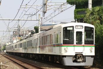 2014年5月31日 7時59分、池袋~椎名町、4005F+4011Fの上り回送列車。
