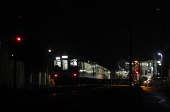 2014年6月20日 21時44分頃、元加治、4019Fの下り回送列車。