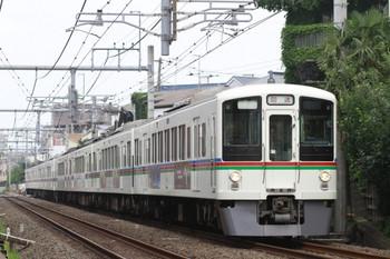 2014年6月21日7時57分頃、池袋~椎名町、4005F+4009Fの上り回送列車。