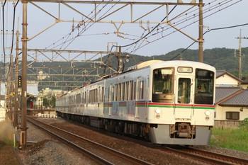 2014年6月22日18時23分頃、元加治、(<-飯能)4005F+4000系4連の下り回送列車。