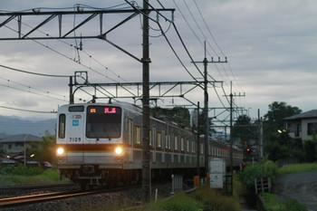 2014年6月29日、18時52分頃、メトロ7109Fの07S運用・上り回送列車。