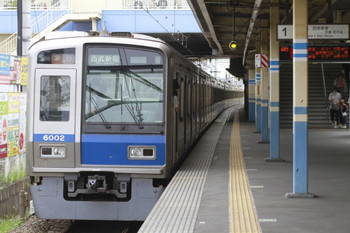 2014年7月20日、田無、発車した6102Fの2626レ。