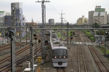 2014年7月20日 16時45分頃、所沢、池袋線から新宿線へ入る特急「おくちちぶ」92号。