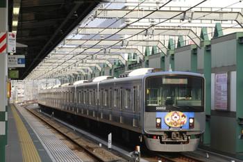 2014年7月26日 6時12分頃、練馬、急行線を通過する20152Fの上り回送列車。