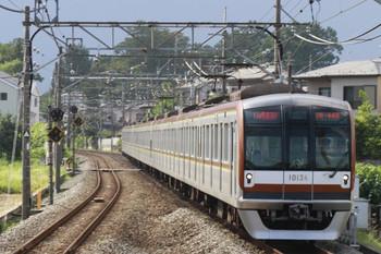 2014年8月20日、元加治、メトロ10034Fが14M運用の1710レを代走。